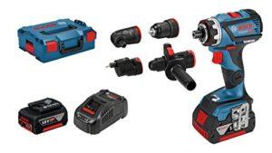 Bosch Professional Akku Bohrschrauber GSR 18V-60 FC (2 x 5,0 Ah Akku, 18 Volt, Schrauben-∅ max.: 10 mm, Drehmoment max.: 60 Nm, in L-Boxx)