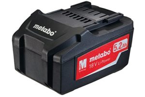 Metabo Akku-Pack, 18 V, 5,2 Ah, Li-Power, 625592000